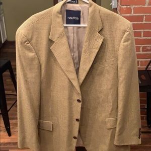 Nautica 46L 54/46 Silk/Wool Blazer